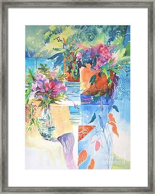 Garden Pool Framed Print