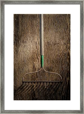 Tools On Wood 8 Framed Print by Yo Pedro