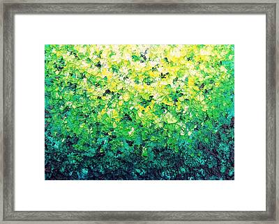 Garden Serenade Framed Print by Rachel Bingaman