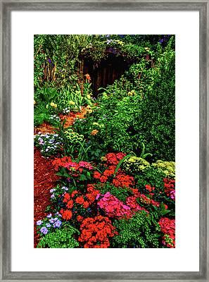 Garden Shed Framed Print