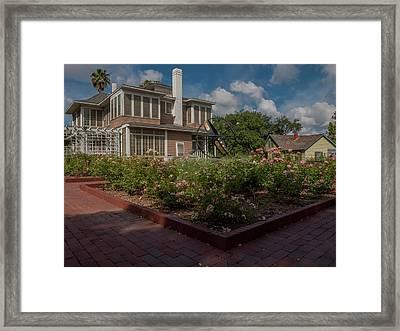 Garden Sundial Framed Print