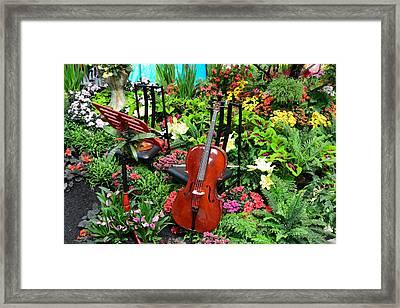 Garden Symphony Framed Print by Brian Tada