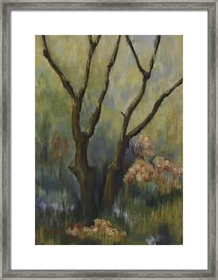Garden Tapestry Framed Print