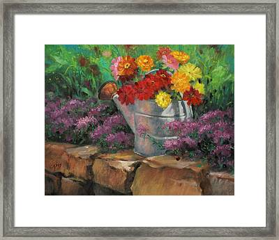 Garden Treasure Framed Print