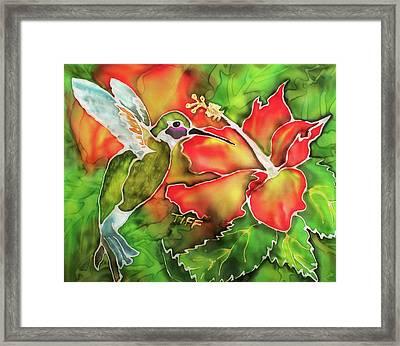 Garden Treasures Framed Print