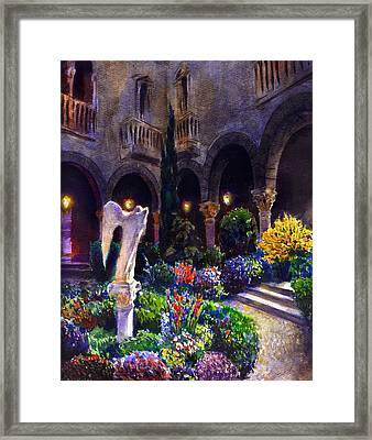 Garden Framed Print