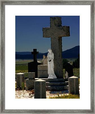 Gardians Of Souls Framed Print