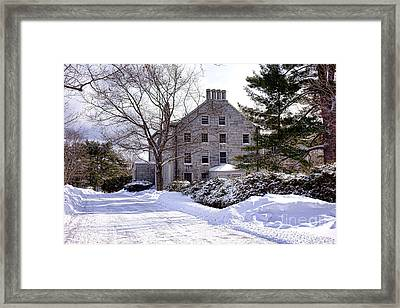 Gardiner Oaklands Castle Framed Print by Olivier Le Queinec