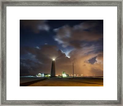 Gardskagaviti Lighthouse, Reykjanes Framed Print by Panoramic Images
