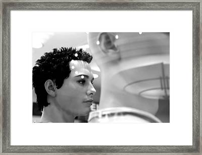 Gareth Framed Print by Jez C Self
