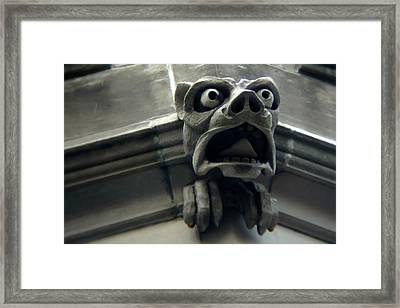 Gargoyle Framed Print by David April