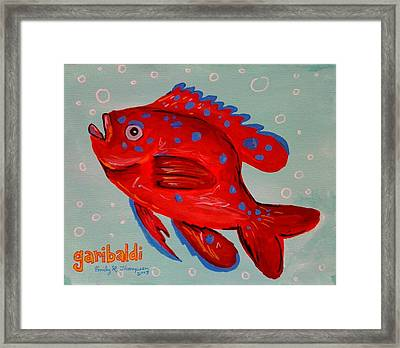 Garibaldi Framed Print by Emily Reynolds Thompson