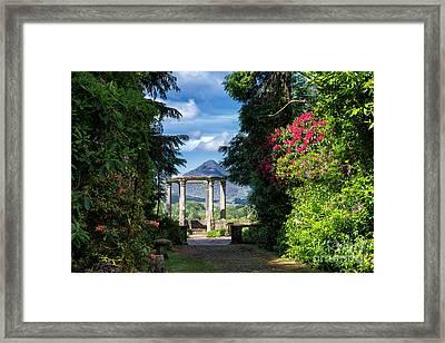 Garinish Island Framed Print by Juergen Klust