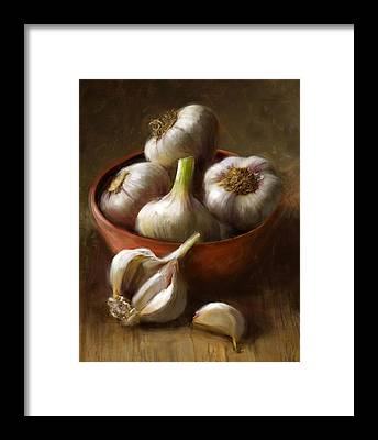 Food Framed Prints