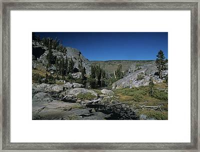 Garnet Lake Outlet Stream Framed Print