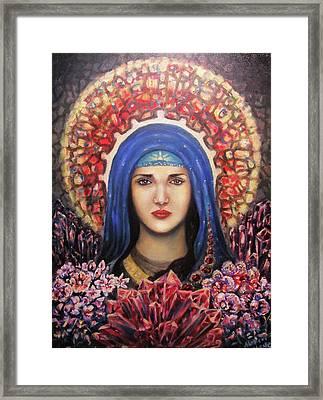 Garnet Maria Framed Print by Aleksei Gorbenko
