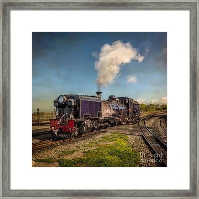 Garratt No. 87 Loco Framed Print by Adrian Evans