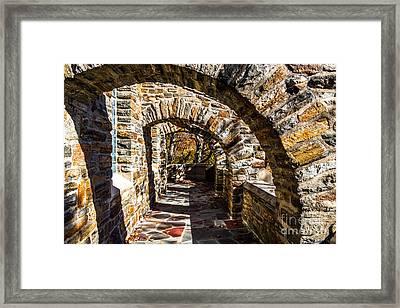Garrett Chapel Balcony Framed Print