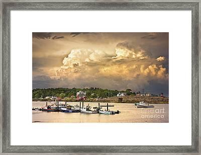 Garrison Cove Thunderstorm Framed Print