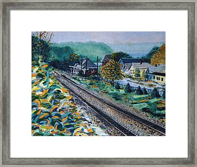 Garrison Station Framed Print by Ralph Papa