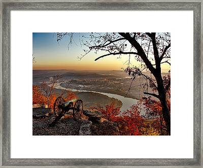 Garrity's Battery Overlooking Chattanooga Framed Print