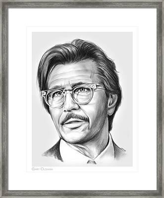 Gary Oldman Framed Print