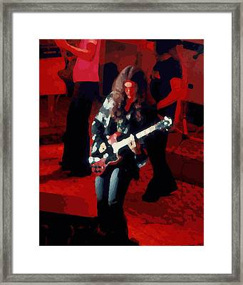 Framed Print featuring the photograph G R Winterland 1 by Ben Upham