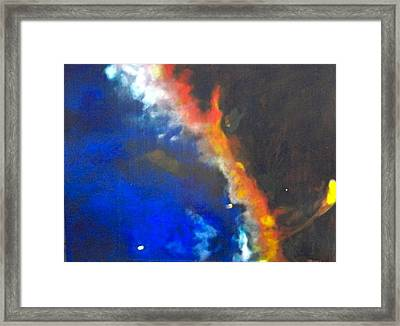 Gas Plume-cygnus Loop Framed Print by Jim Ellis