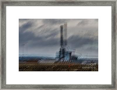 Gas Powered Framed Print by Richard Thomas
