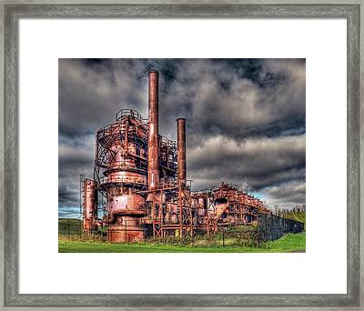 Gas Works Park - Seattle Framed Print