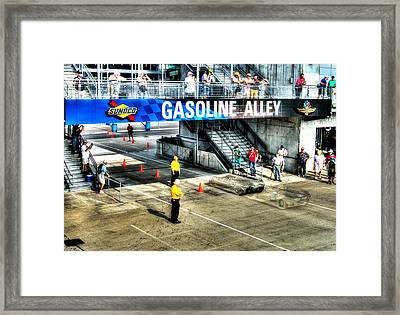 Gasoline Alley Framed Print