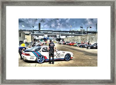 Gasoline Alley Svra Framed Print