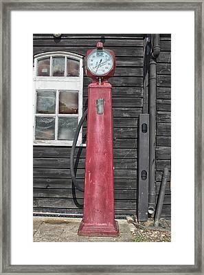 Gasoline Framed Print
