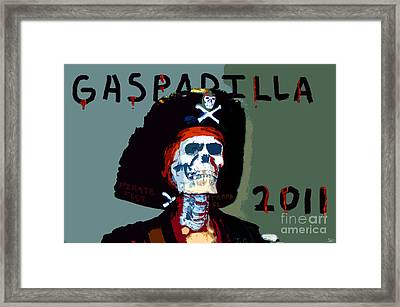 Gasparilla 2011 Work Number Two Framed Print by David Lee Thompson