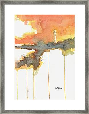 Gasparilla Coast Guard Light II Framed Print