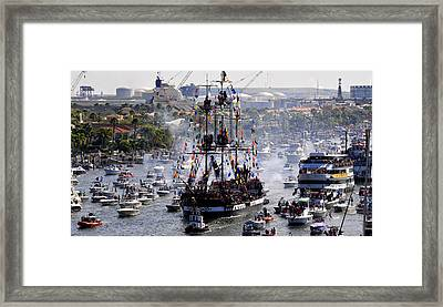 Gasparillas Wild Crew Framed Print by David Lee Thompson