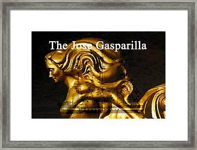 Gaspar's Golden Girl Framed Print by David Lee Thompson