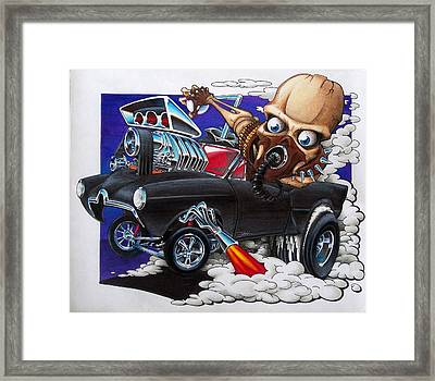 Gasser Framed Print by Jason Hunt