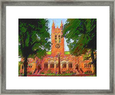 Gasson Hall  Framed Print