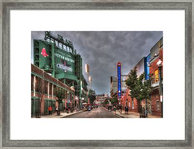 Gate E - Fenway Park Boston Framed Print by Joann Vitali