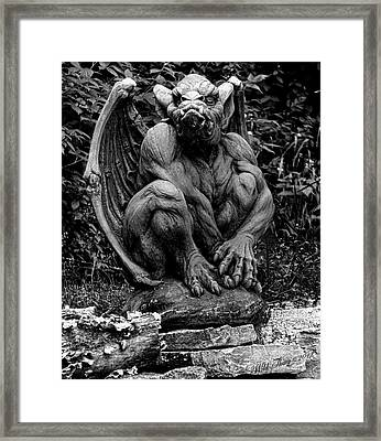 Gate Keeper Framed Print by Wild Thing