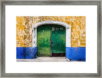 Gate No 48 Framed Print by Marco Oliveira