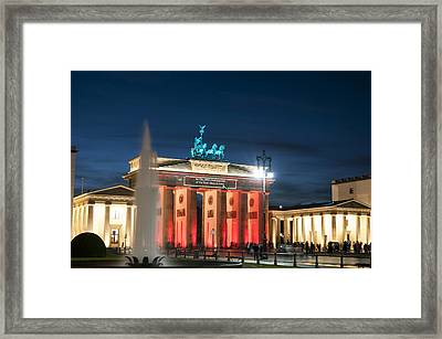 Gate Of Beauty Framed Print by Nathan Wright