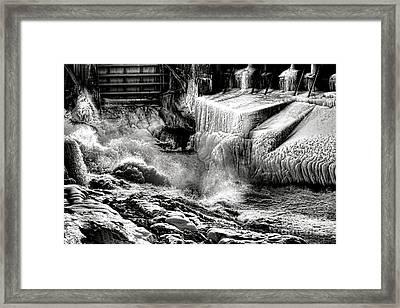 Gate Of Frozen Hell Framed Print
