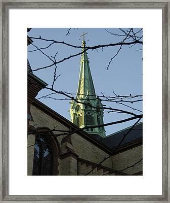 Gate Of Heaven Church Framed Print