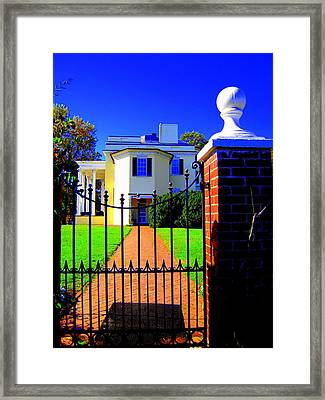 Gate Of My Grandfather Framed Print by Don Struke