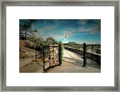 Gate To The Martyrs Framed Print by Diana Angstadt