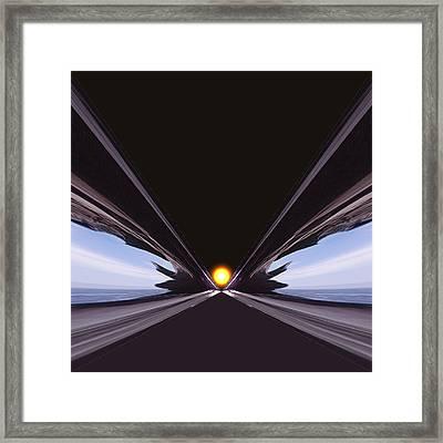 Interstellar Overdrive Framed Print by Daniel Furon