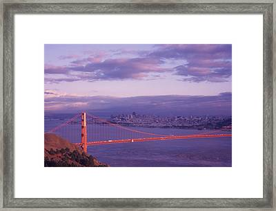 Gate To Frisco Framed Print by Gerard Fritz