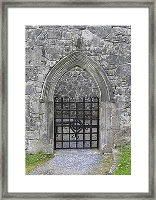 Gate To Irish Castle Framed Print